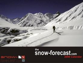 Snow Forecast Calendar