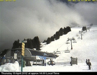 Champery Webcam 19th April 2012