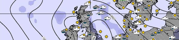 UK Weather Map