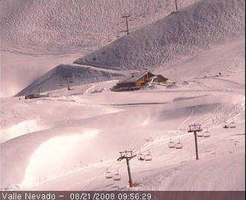 valle nevado webcam