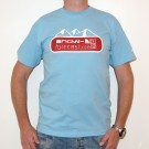   Mens Blue MTN Tee