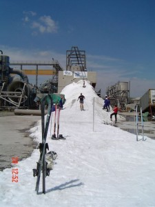 Snow Making at 30deg C