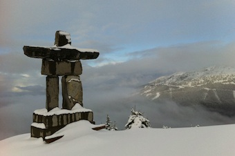 New snow in Whistler
