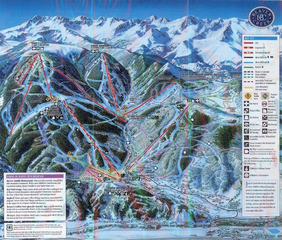 Beaver Creek Ski Resort Guide Location Map Amp Beaver Creek