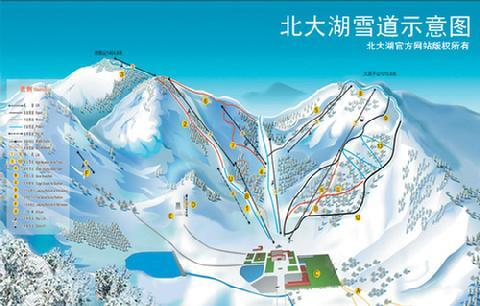 Beidahu Piste / Trail Map