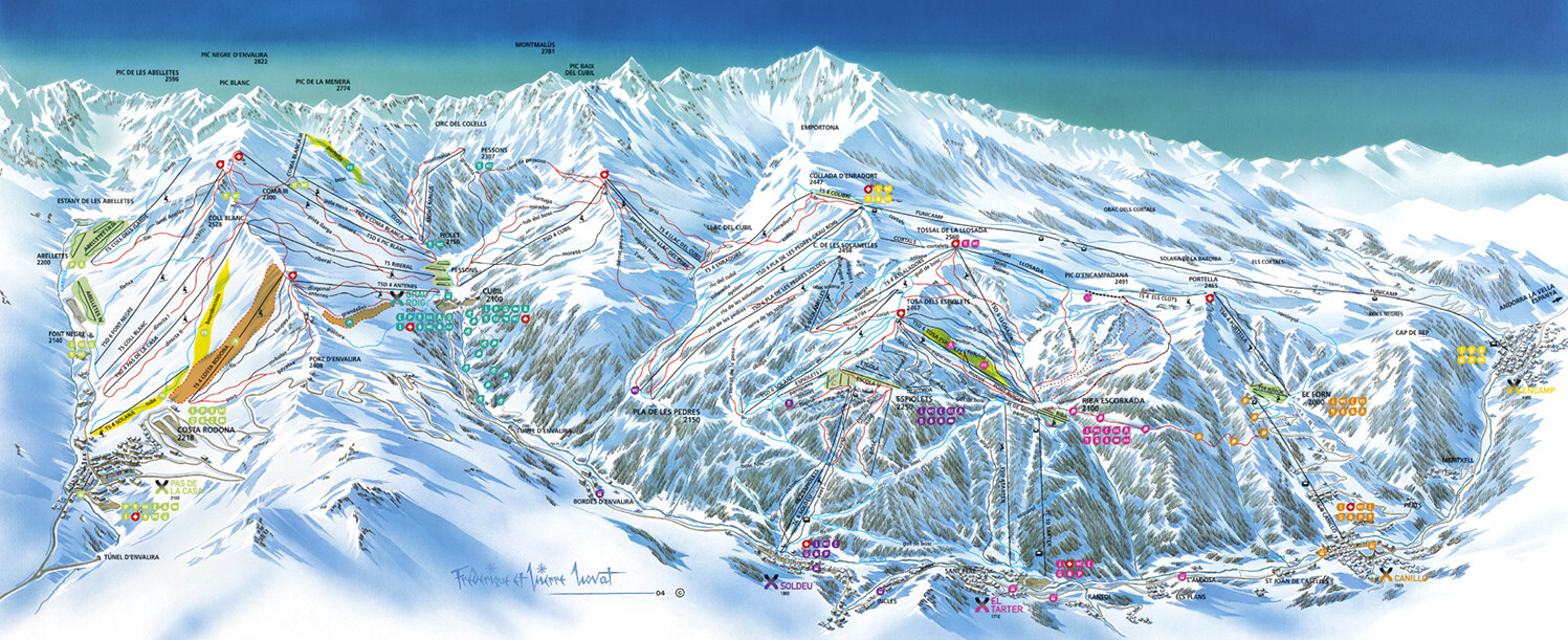 grandvalira el tarter ski resort guide location map grandvalira el tarter ski holiday. Black Bedroom Furniture Sets. Home Design Ideas