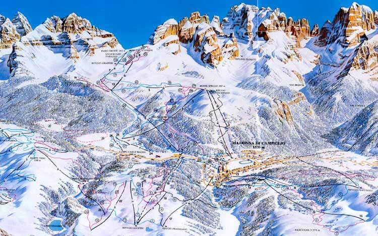 Madonna di Campiglio Italy  city images : Madonna di Campiglio Ski Resort Guide, Location Map & Madonna di ...