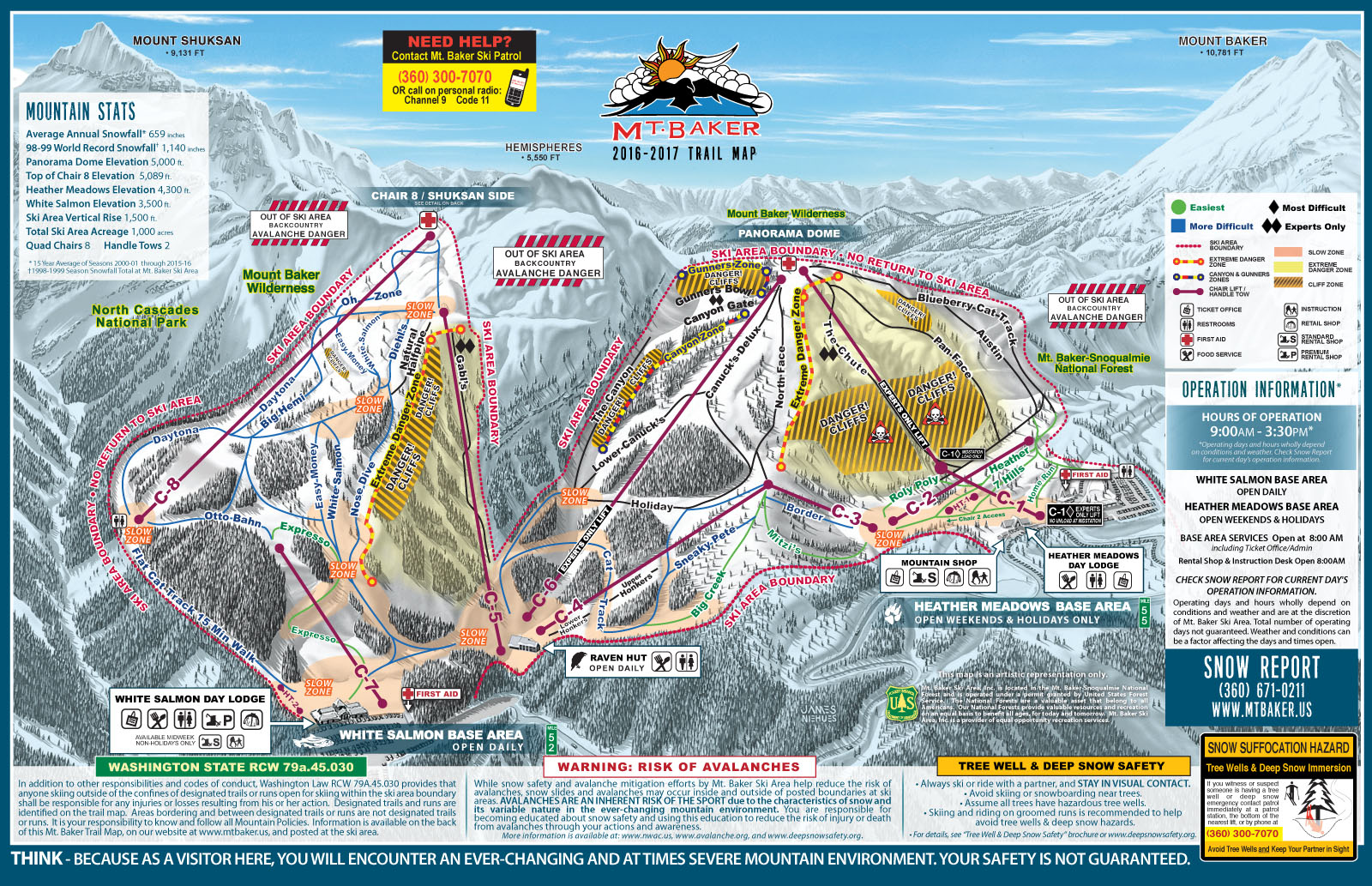Mount Baker Ski Resort Guide, Location Map & Mount Baker ski ... on montana resort towns, mt. snow trail map, montana average temperatures by month, mt. rose ski area map, great divide ski map, montana ski areas, montana hotels map, montana ski towns, new york city tourist attractions map, mt. baldy ski trail map, montana whitefish mountain resort, tremblant canada map, red lodge ski resort map, mt spokane ski map, montana road conditions map webcams, red lodge trail map, resorts in montana map, montana snotel data, montana scenic drives map, montana hiking map,