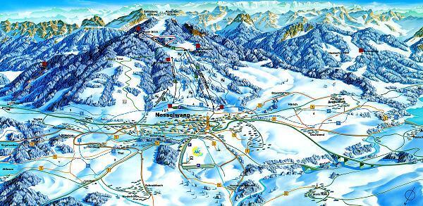 M M Nesselwang nesselwang ski resort guide location map nesselwang ski accommodation