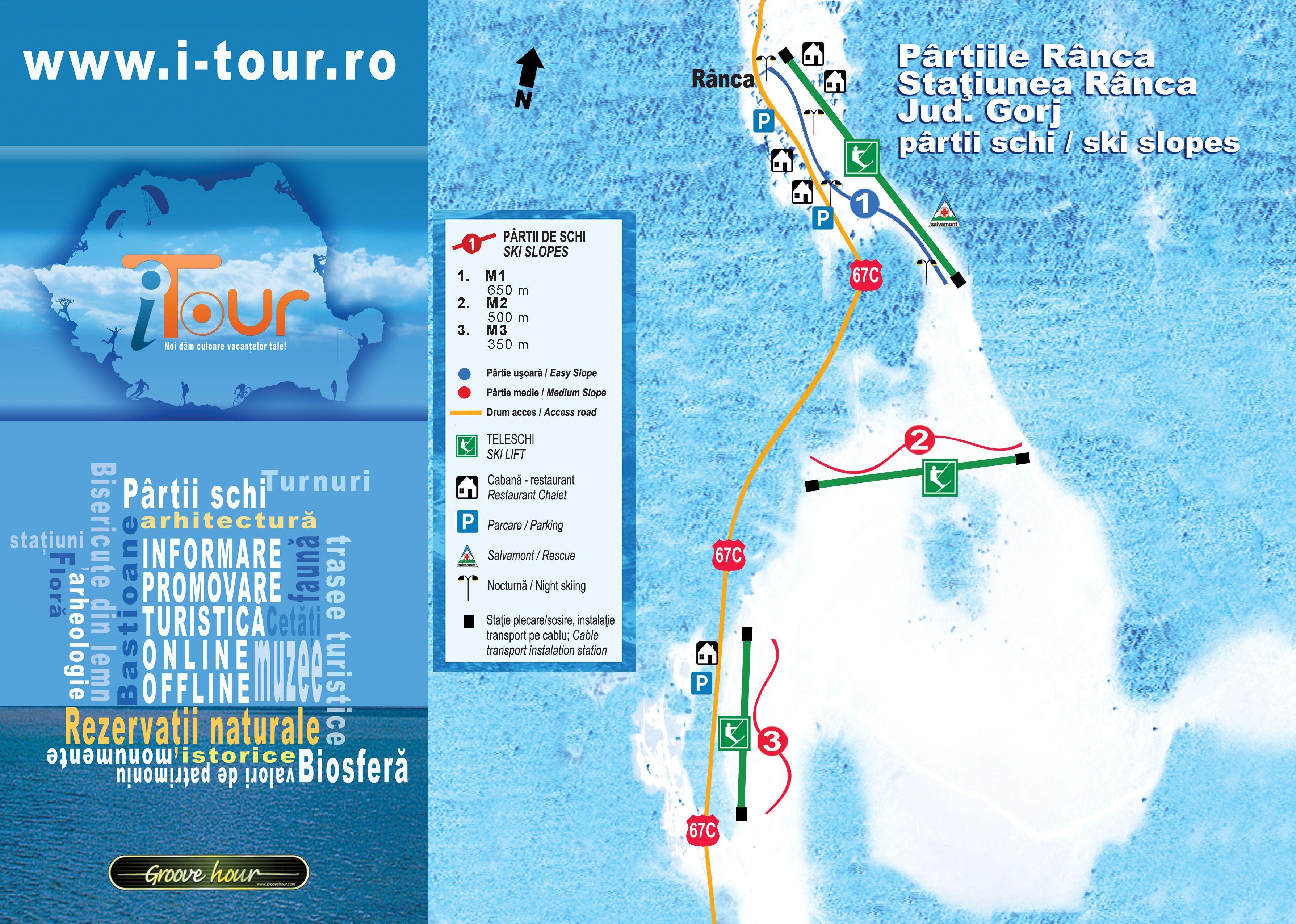 Ranca Ski Resort, Romania editorial image. Image of piste ...  |Ranca