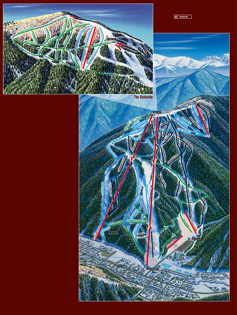 Red River Piste / Trail Map