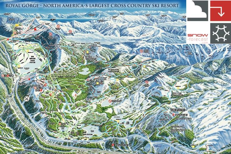 Royal gorge ski resort guide location map royal gorge ski lifts sciox Image collections