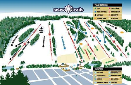 Snow Trails Piste / Trail Map
