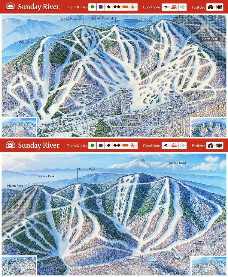Sunday River Ski Resort Guide Location Map Amp Sunday River