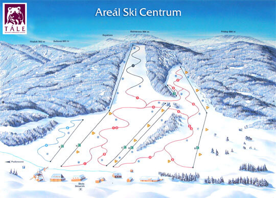 Tále Piste / Trail Map