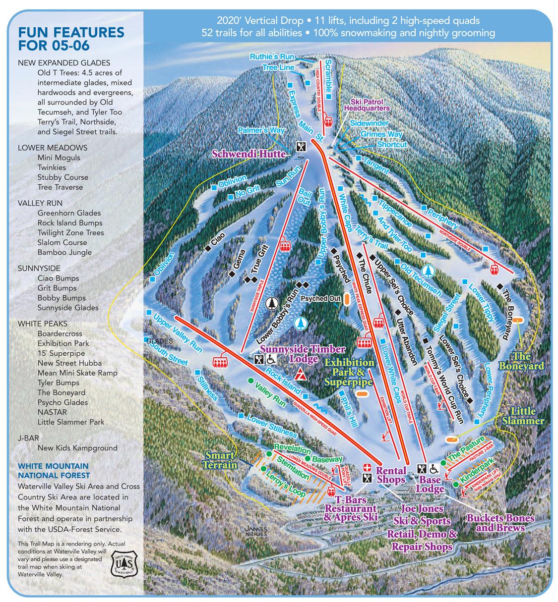 Waterville Valley Ski Resort 50