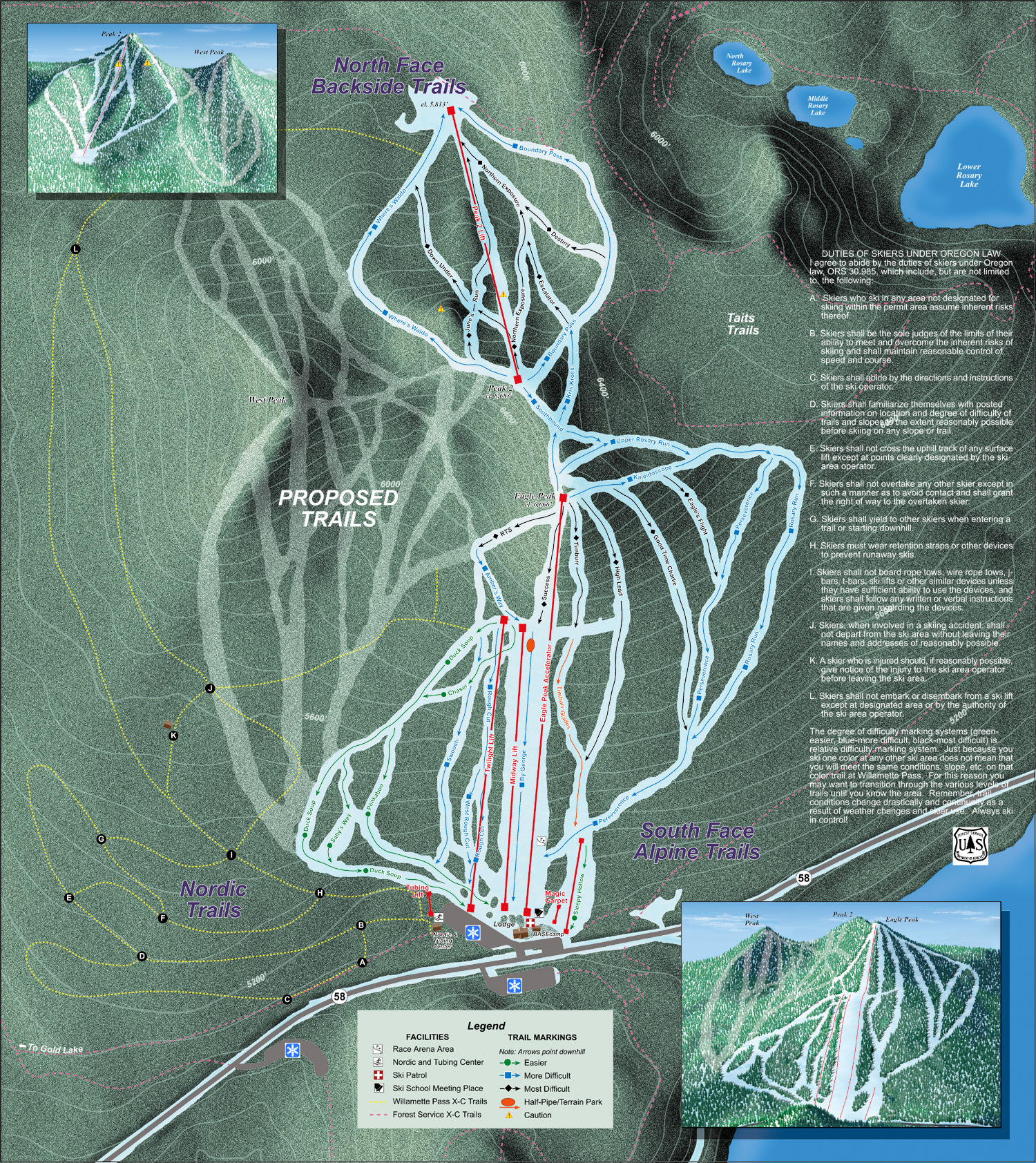 mt hood ski resorts map with Willamette Pass on 6190 moreover 5747 also Mt Hood Meadows likewise Trailmap also MountHood.