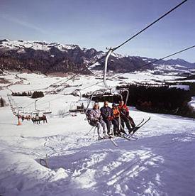 Snowtubing walchsee