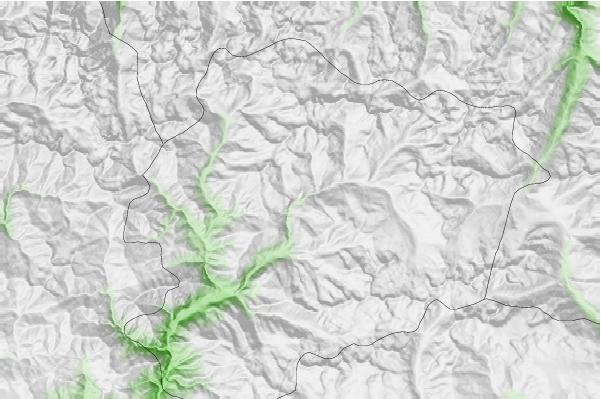 Grandvalira-Canillo neighbourhood basemap