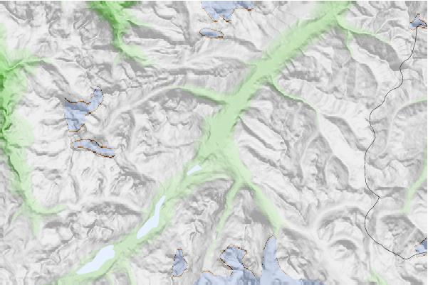 Celerina/Engadin neighbourhood basemap