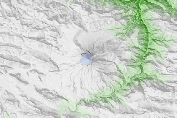 Mount Damavand neighbourhood basemap