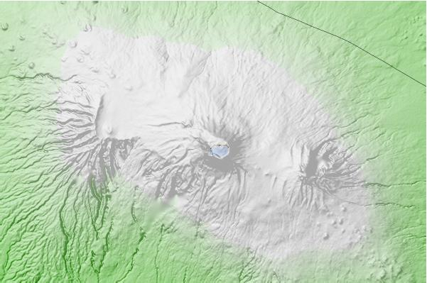 Mount Kilimanjaro neighbourhood basemap