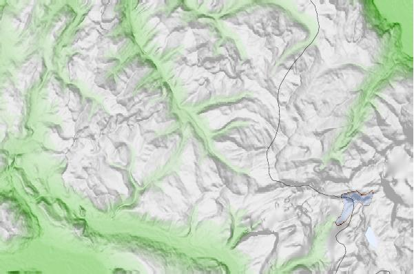 Morzine neighbourhood basemap