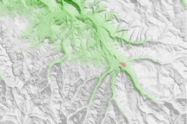 Snowmass neighbourhood basemap