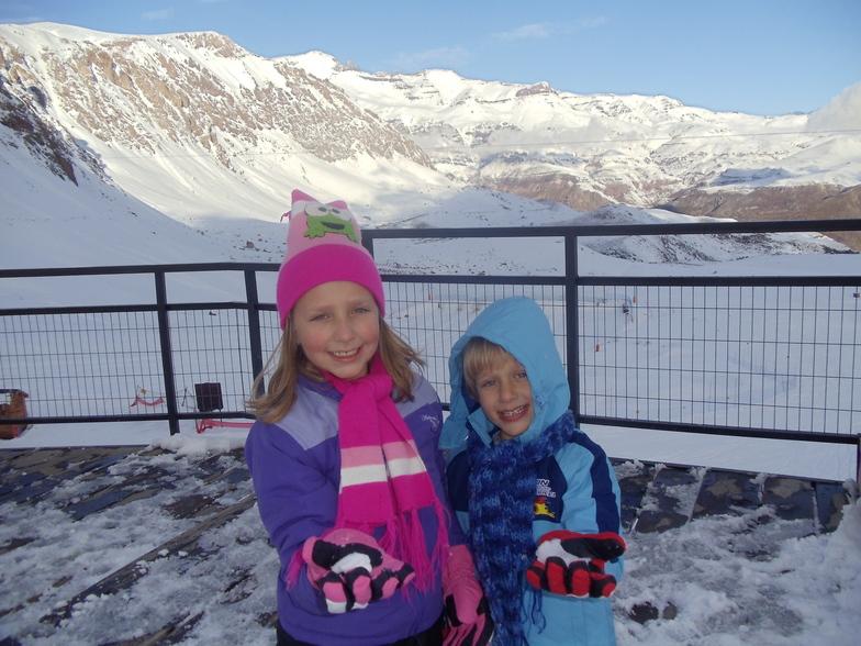my kids, Valle Nevado