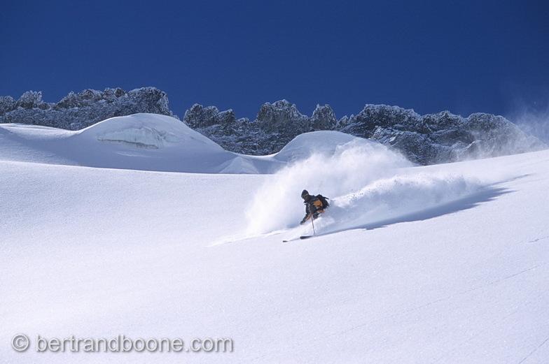 Glacier du Rateau a La Grave, La Grave-La Meije