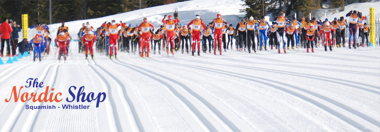 Race Start, Ski Callaghan