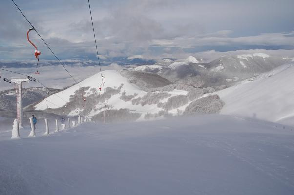Top of Terminilluccio Lift, Terminillo