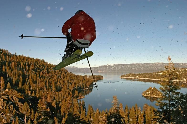 bad roo above Emerald Bay, Lake Tahoe, Mt Rose Ski at Tahoe
