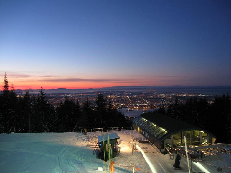 Good Morning Vancouver Grouse Mountain Photo