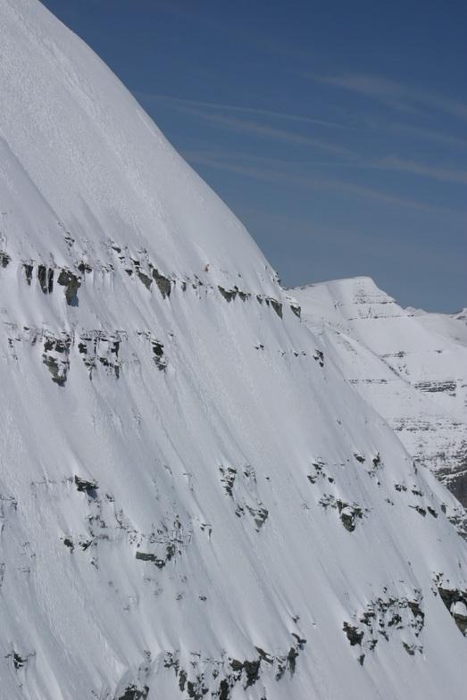 First descent, Castle Mountain Resort
