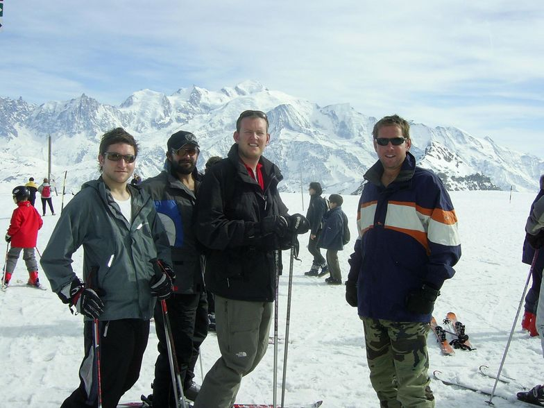 MONT BLANC, TOP OF FLAINE, FRANCE