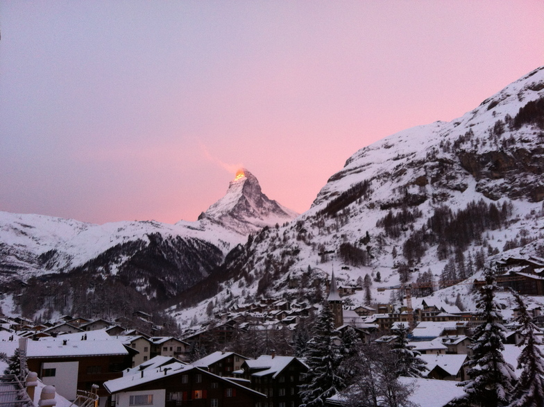 All quiet before the storm !, Zermatt