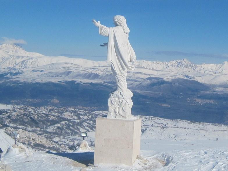 la madonna della neve (of the snow), Campo Felice-Rocca di Cambio