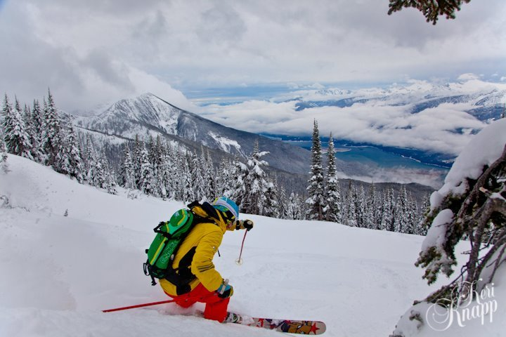 Skied South @ RMR, Revelstoke Mountain Resort
