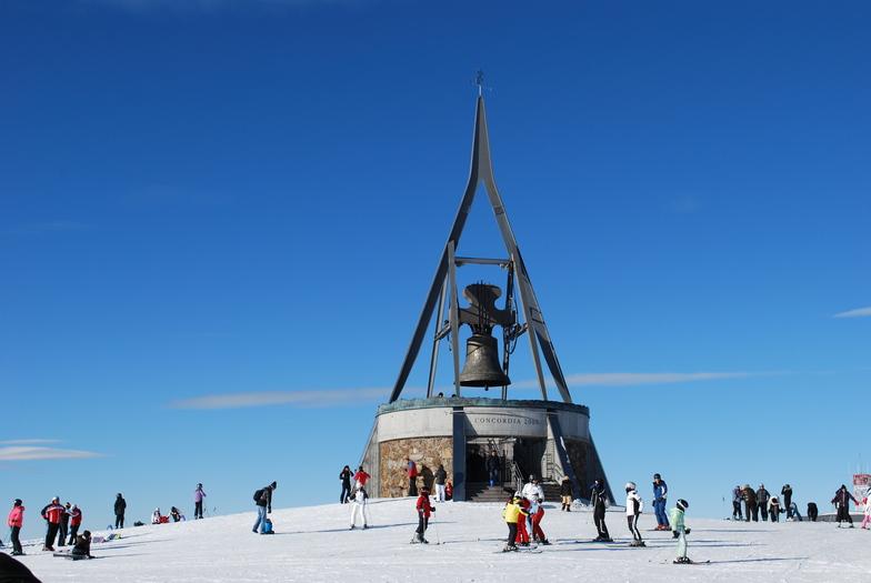 Kronplatz top 2,275m, San Vigilio Di Marebbe