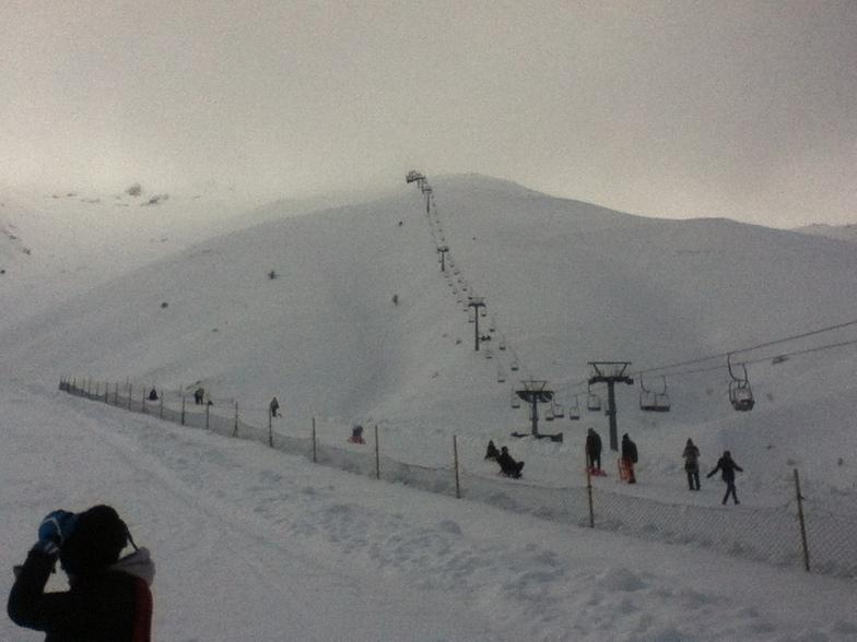 Bozdag peak telesski