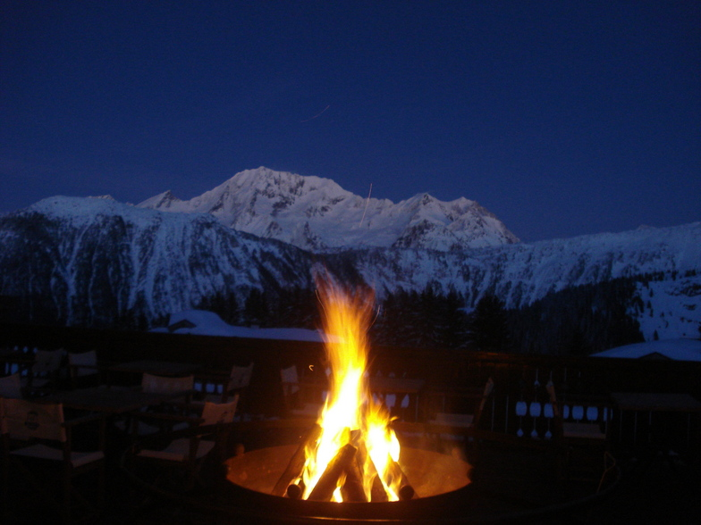 Fire & Snow, Courchevel