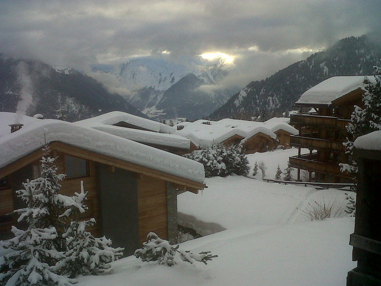 Verbier Snow Roofs