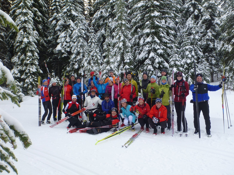 Happy Campers, Sovereign Lake Nordic Centre