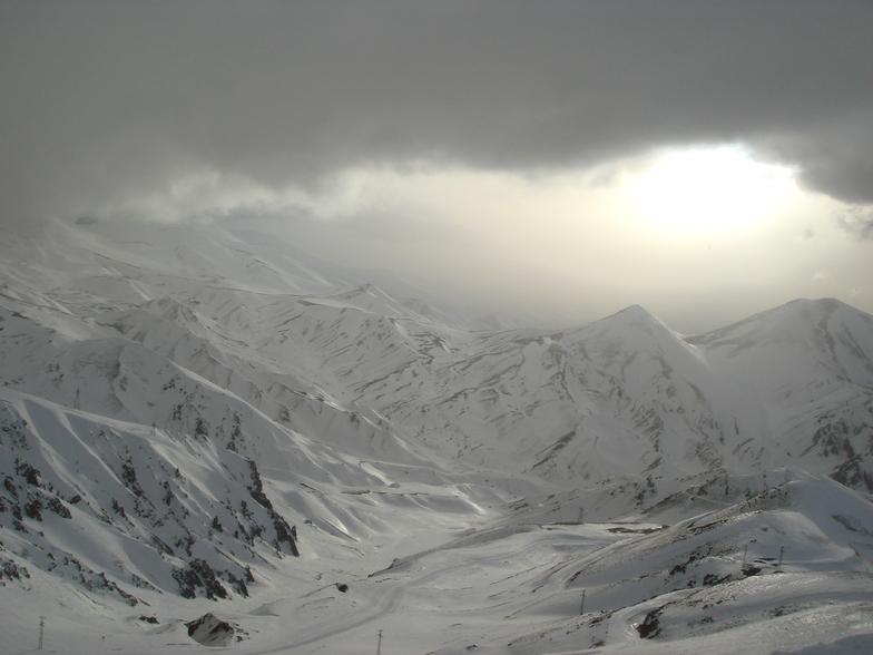Landscape from Ejder, Mt Palandöken