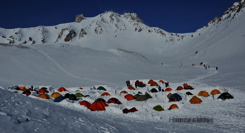 Erciyes çoban ini kamp alanı, Mt Erciyes