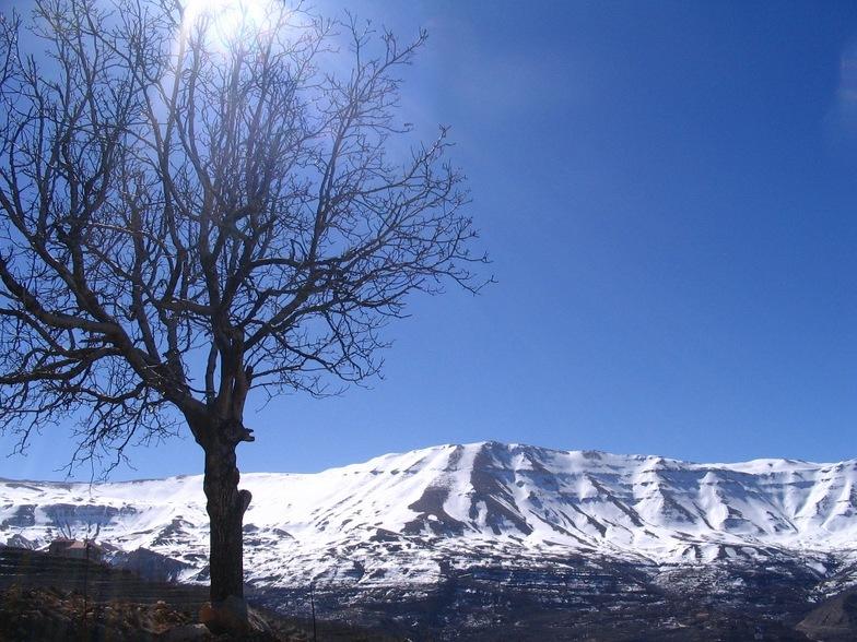 Lebanon Mountains, Mzaar Ski Resort