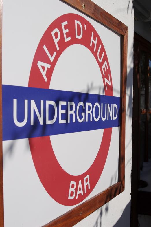 Underground Bar, Alpe d'Huez