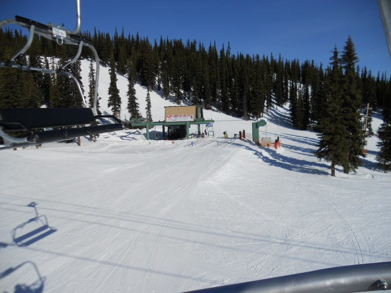 Eagle Ridge Quad Chair, Marmot Basin