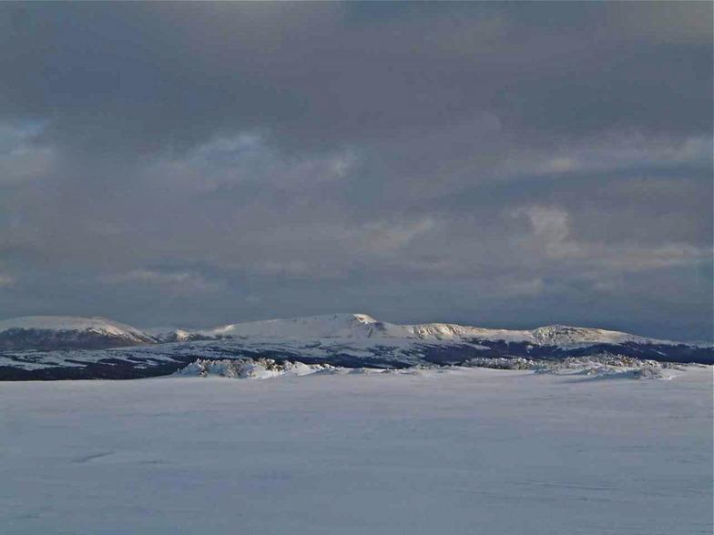 Vista Tres Morros - Ski Nordico, Cerro Mirador